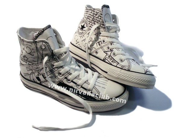 7857ed0f40ea Converse unveils Kurt Cobain signature shoes - Everything Else ...